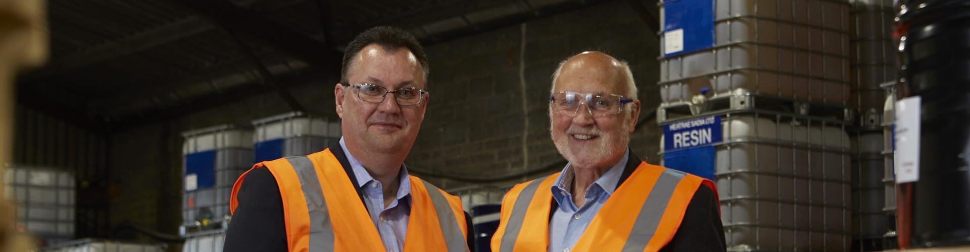 IFS Huntsman: Iain Stanton & Barrie Colvin