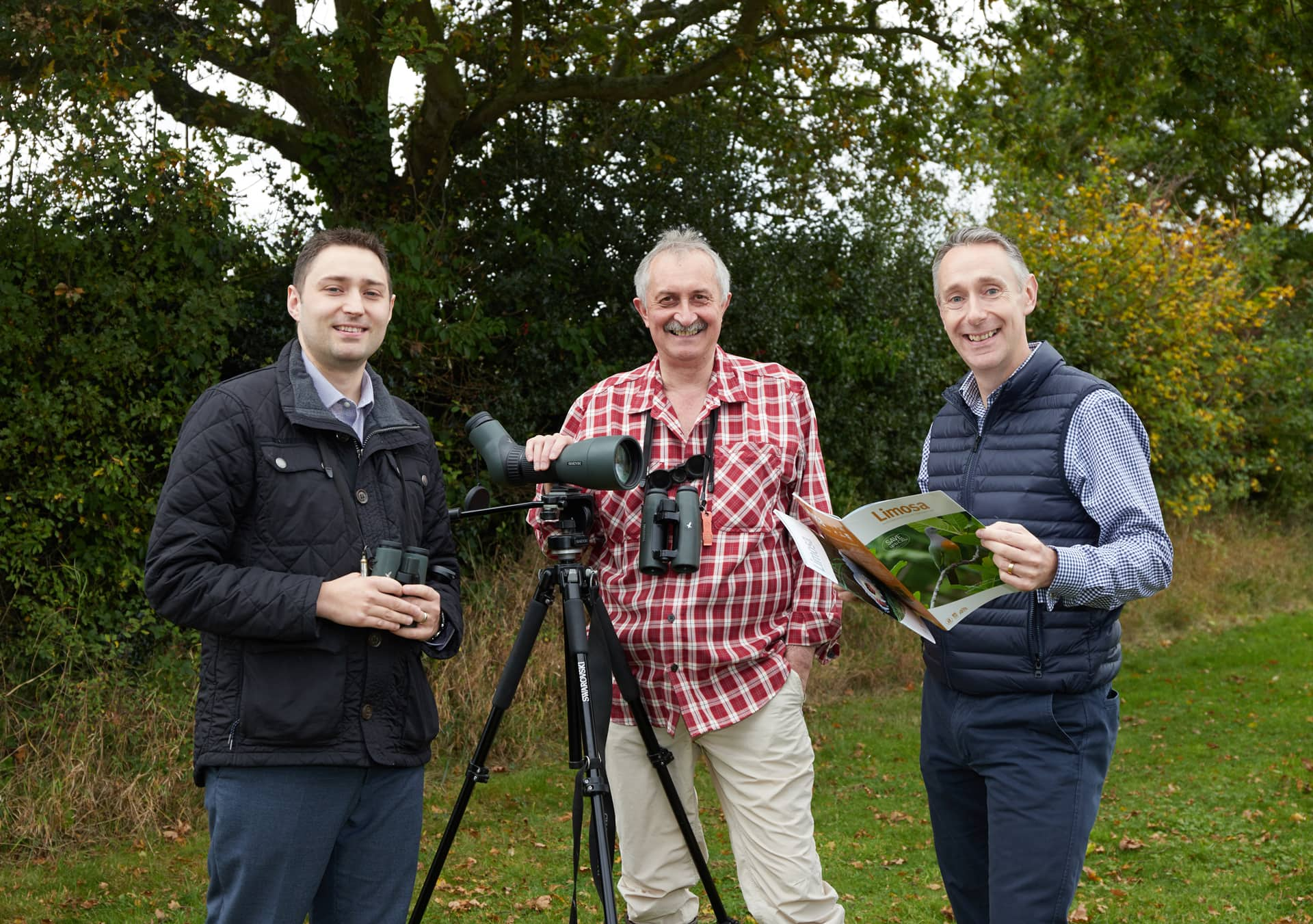 Chris Kightley, Limosa Holidays with Mike Rowles and Martyn Benstead.