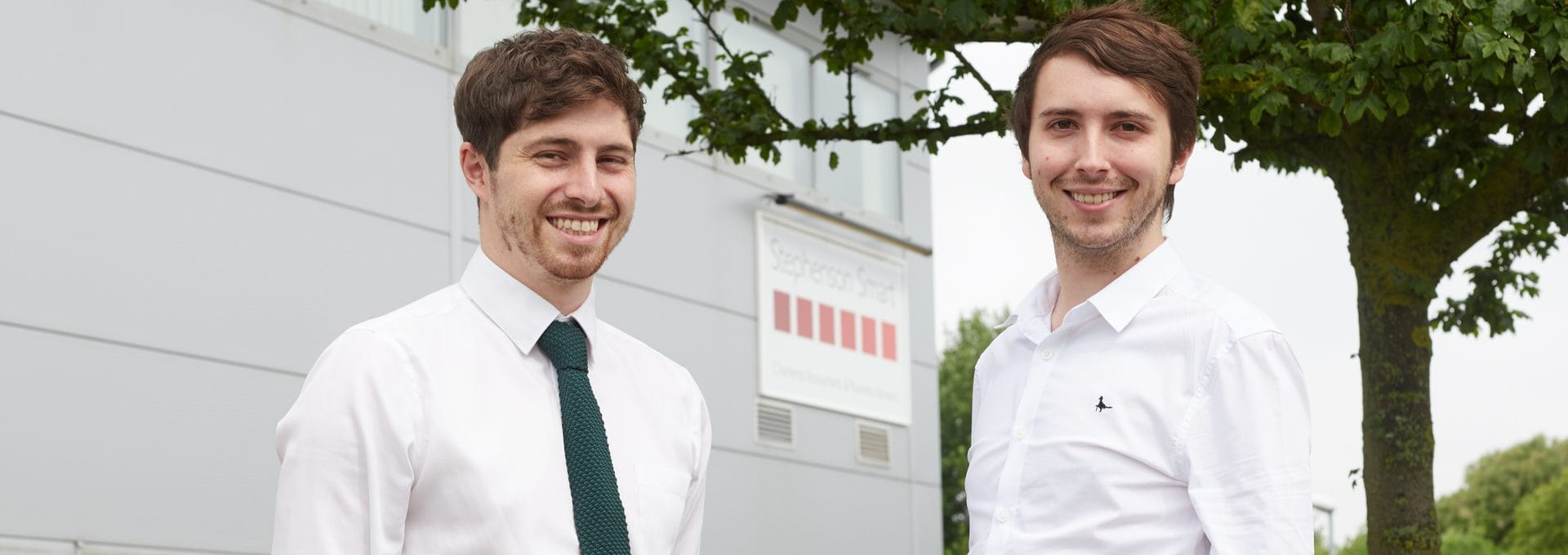 Aaron Hunter and Curtis Booth are the latest recruits at our Great Yarmouth office.