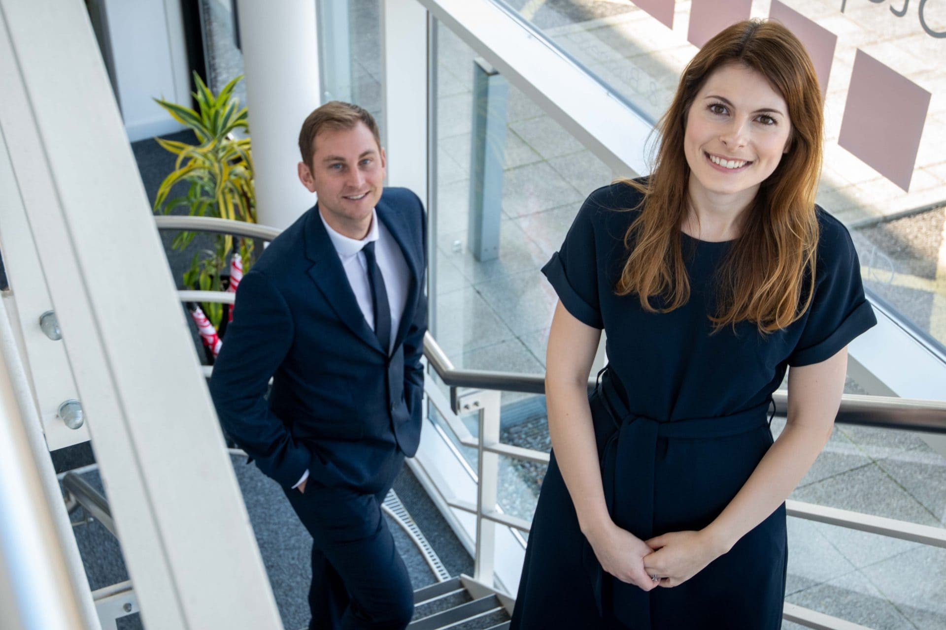 Kerry Williams and Alex Salmon, Associate Directors at Stephenson Smart