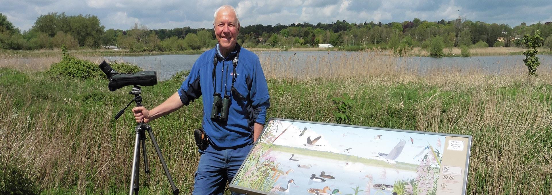 Chris Durdin - Honeyguide Wildlife Holidays